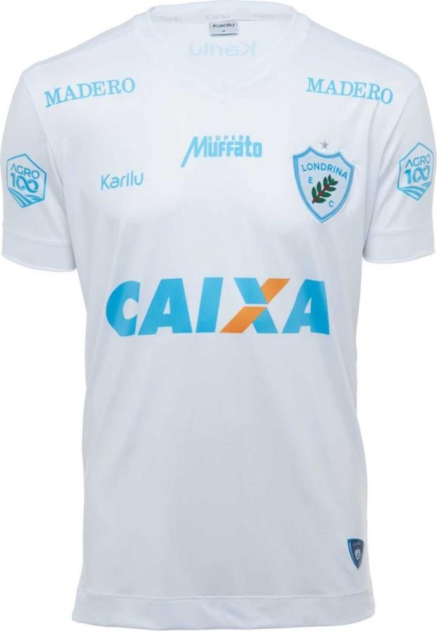 eb26e8d12 Karilu lança as novas camisas do Londrina - Show de Camisas