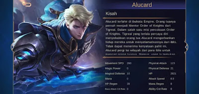 Build Item Alucard Cold Savage Full Damage Mematikan