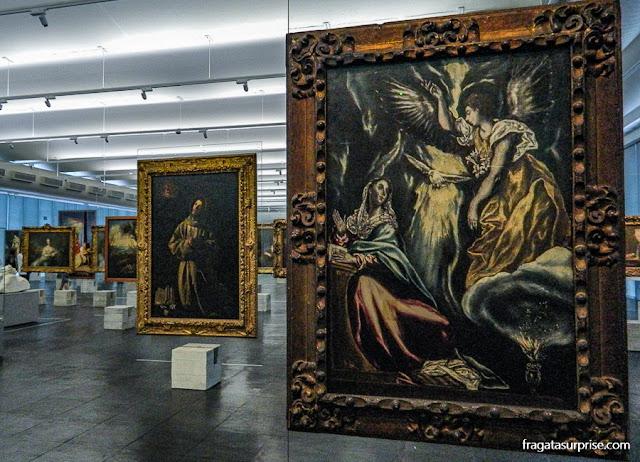 """""""Anunciação"""", de El Greco, no acervo do MASP, São Paulo"""