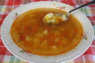 Romanian Potato Soup (Ciorba de cartofi)