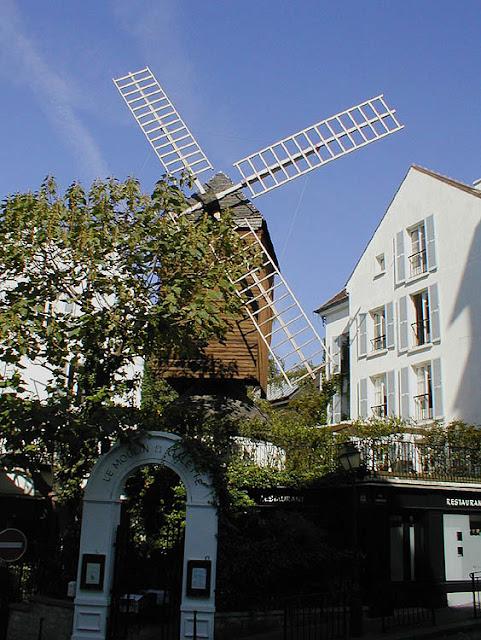 Moulin de la Galette, Montmartre, Paris, France. Photo by Loire Valley Time Travel.