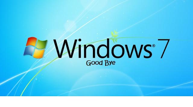 Microsoft Mengakhiri Dukungan untuk Windows 7