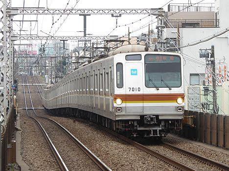 【17000導入ダイヤ改正で消滅!】東京メトロ7000系のF特急 飯能行き