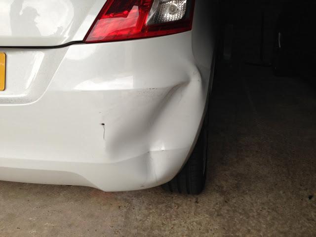 Begini Cara Memperbaiki Bumper Mobil Yang Penyok