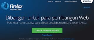 Cara Install Firefox Developer Edition Di GNU/Linux Ubuntu & Turunannya