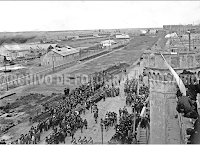 1913 - Colocación piedra fundamental del nuevo edificio.