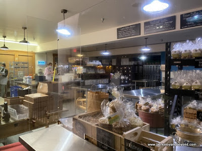 bakery area of Brown Sugar Cookie Company in Cayucos, California
