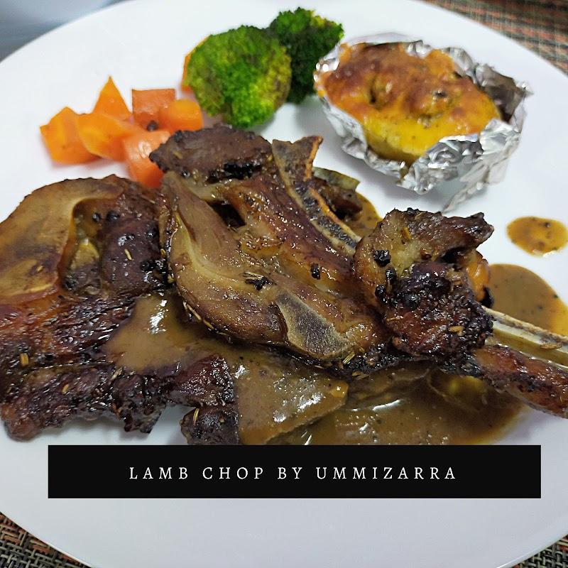 Resepi Lamb Chop dan Sos Blackpepper Homemade Sangat Mudah