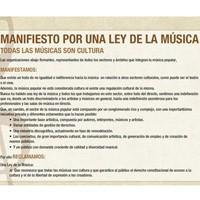 Ley de la música