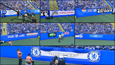 PES 2021 Lock-Down Banners Mod by Hawke