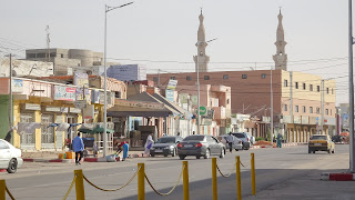 Saudique Mosque in Nouakchott is the biggest