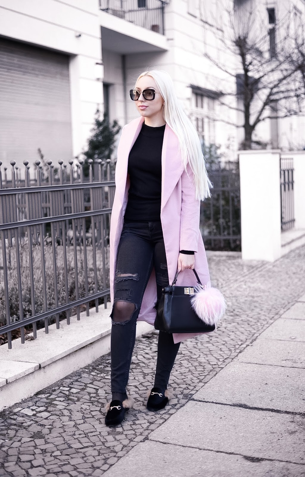 ripped jeans_winter streetstyle_fashionblogger style