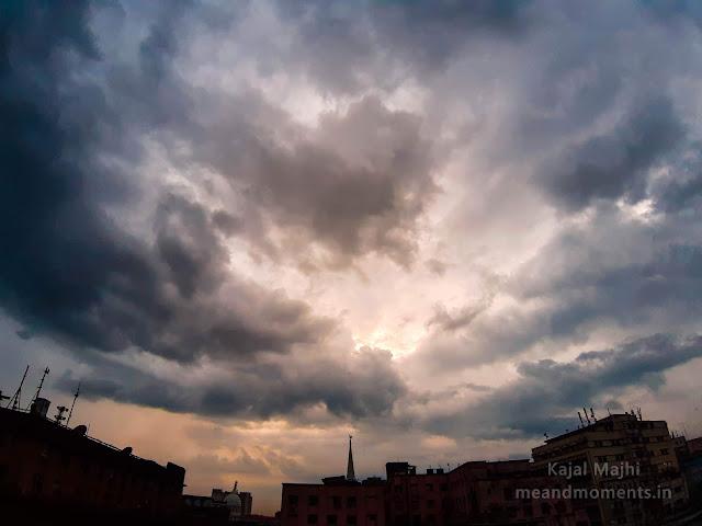 cloudy sky, cloudy skyline