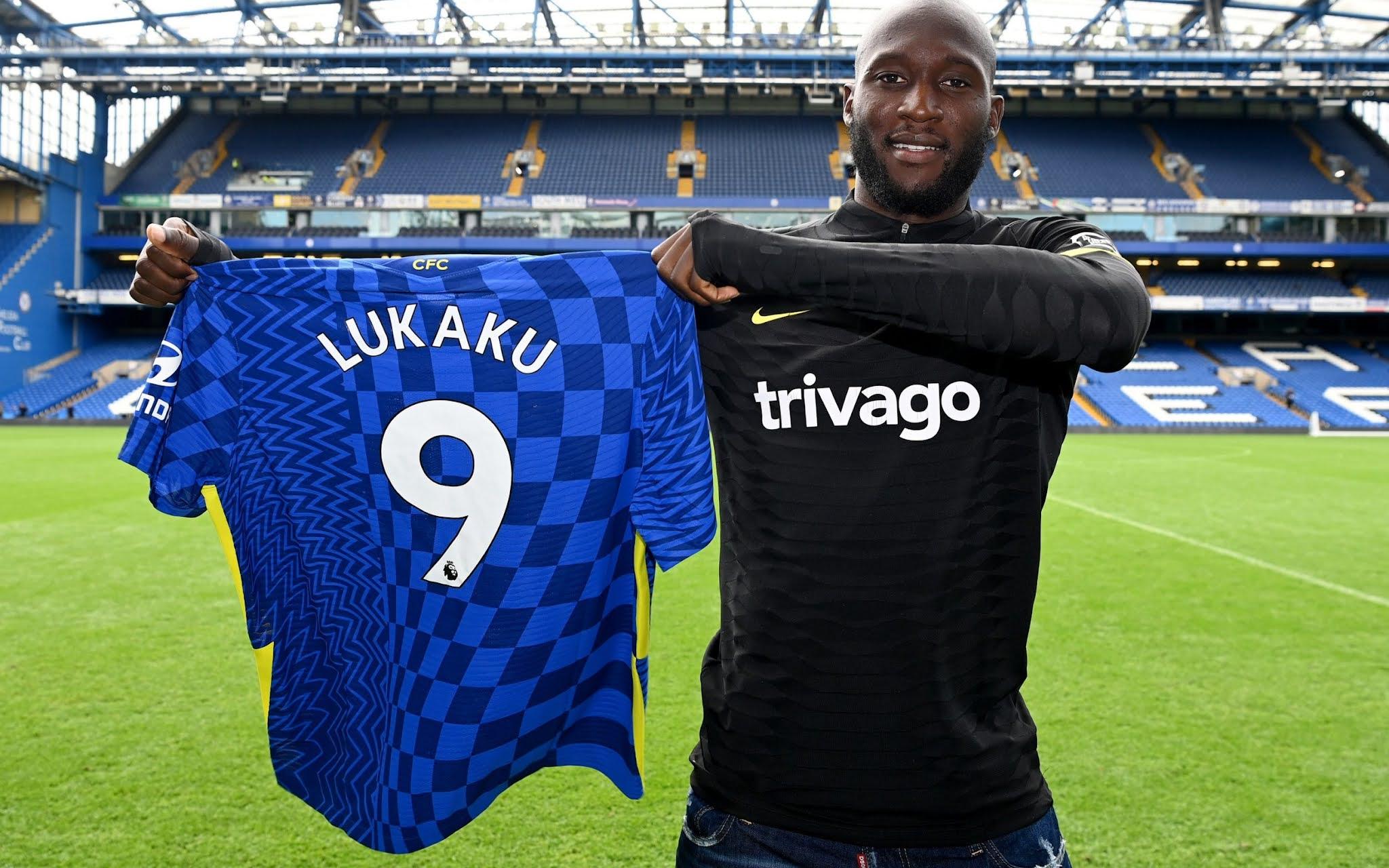 Romelu Lukaku at Stamford Bridge