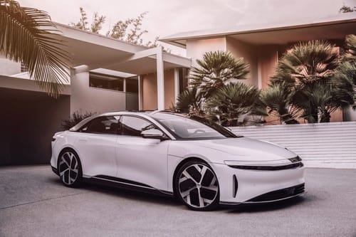 Lucid Air ... a luxury electric car to rival Tesla