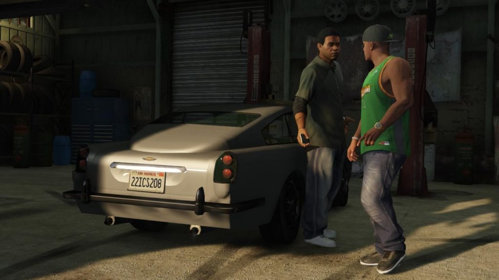 In GTA Online you also get contact missions from well-known characters.