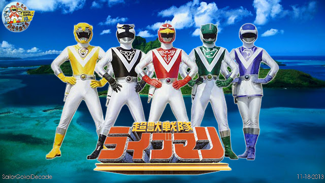 Choujuu Sentai Liveman Sub Indo