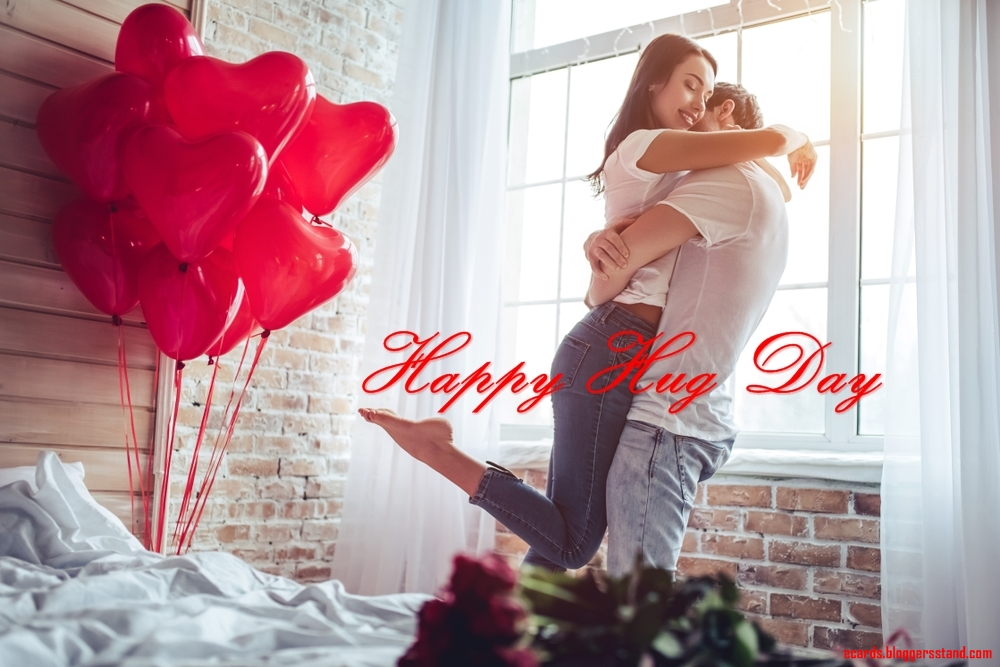 Happy Hug Day Date 2021 images wishes for wife pics with quotes