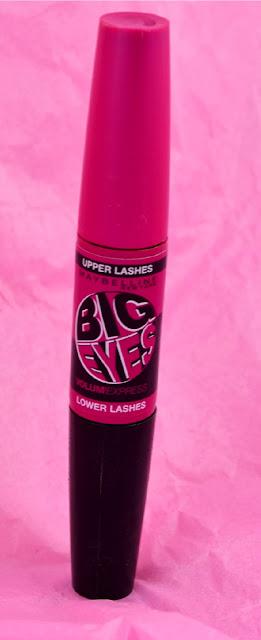 Maybelline - Big eyes - mascara - double ended mascara - review