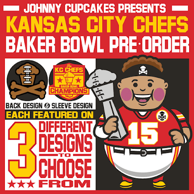 Kansas City Chiefs Super Bowl Champions T-Shirt Collection by Johnny Cupcakes