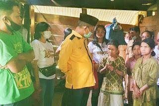 Peduli Kasih, JRM Kunjungi 3 Bersaudara Buta, Tuli,Bisu di Makale Selatan