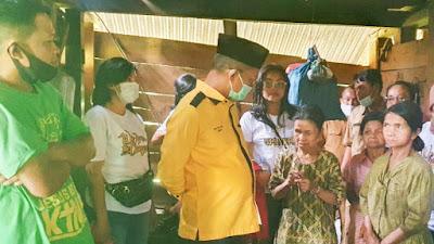 Peduli Kasih, JRM Kunjungi 3 Bersaudara Buta,Tuli,Bisu di Makale Selatan