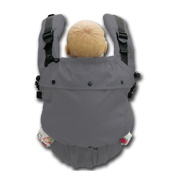 5 Ciri Baby Carrier Yang Selamat dan Ergonomic