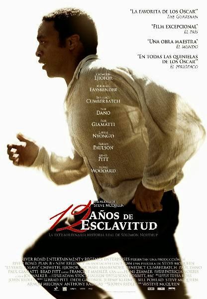 12 AÑOS DE ESCLAVITUD (Steve McQueen-2013)