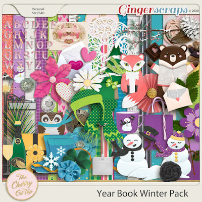 Year Book Winter Freebie