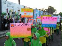 Sambut Ramadan, Ribuan Siswa Ikuti Pawai Taaruf