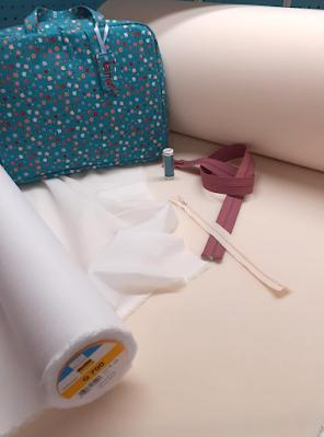Gebruikte materialen voor de Glamping tas