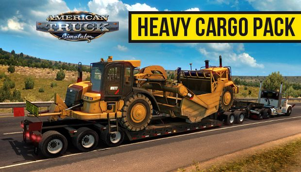 American Truck Simulator Heavy Cargo Free Download