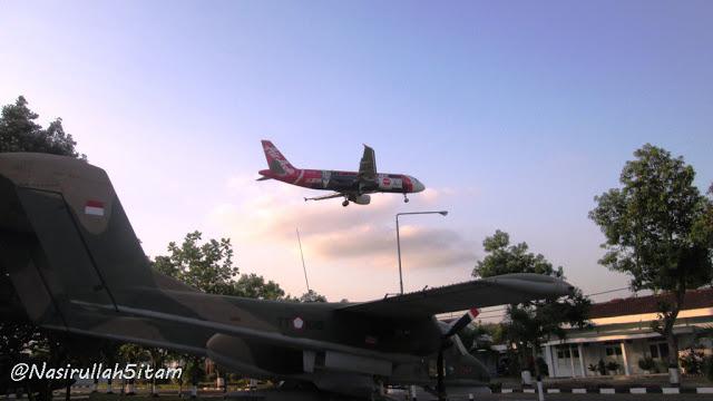Pesawat di museum dirgantara Yogyakarta