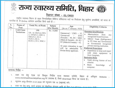 bihar cct recruitment apply online
