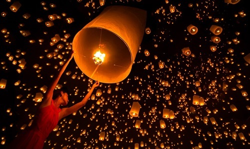 Things to know when participating in the sky lantern festival