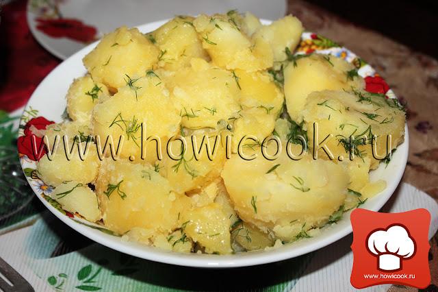 рецепт вкусного картофеля