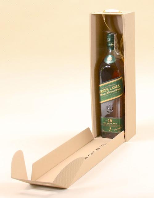pudełka na whisky szare z logo