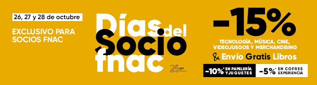 Top 5 portátiles promoción Días del Socio de Fnac.es