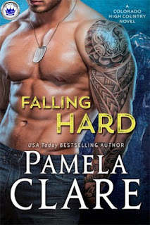 romance novel covers, contemporary romance, Falling Hard by Pamela Clare, Royal Pick