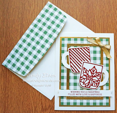 Heart's Delight Cards, Cup of Christmas, Cup of Cheer Dies, SRC - Cup of Christmas, 2019 Holiday Catalog