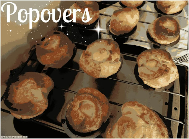 Receta de Popovers
