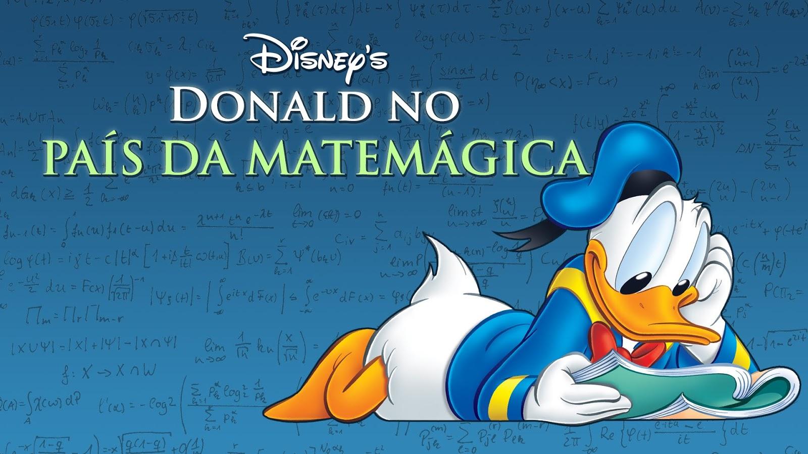Xeque Math Filme Donald No Pais Da Matemagica Donald In