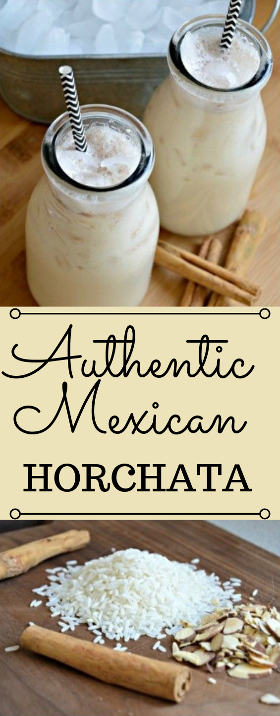Horchata (Authentic Mexican Recipe) #drink #delicious #fresdrink #healthy #party
