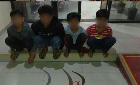 Bawa Senjata Tajam, Anak Di Bawah Umur Diamankan Polisi