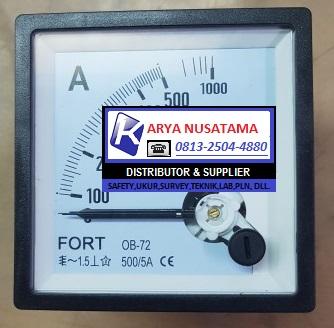 Jual Fort Ampere Meter Analog  0 - 1600/5 A di Bandung