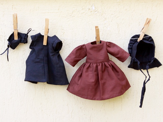 Amish doll clothes