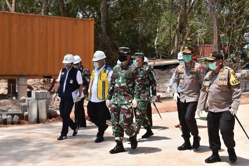 Panglima TNI: Rumah Sakit Khusus Pasien Covid-19 Tiga Hari Lagi Sudah Siap