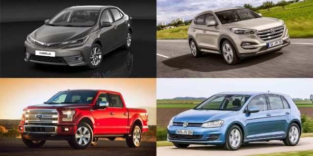 تعرف على أكثر السيارات مبيعاً في العالم.؟