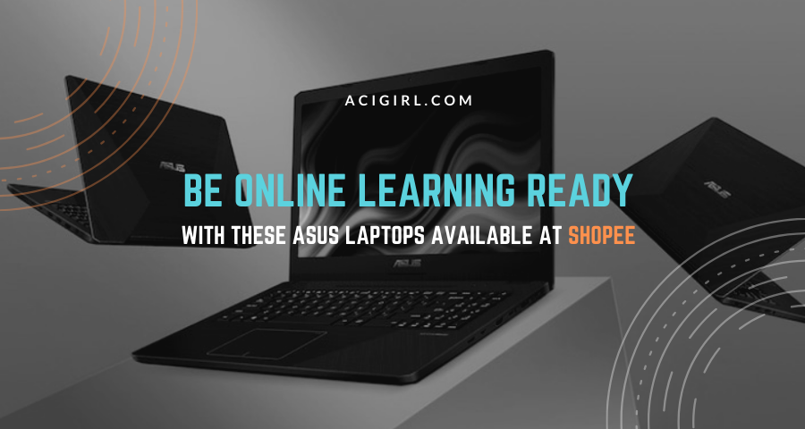 ASUS Laptops for Online Learning worth Buying at Shopee