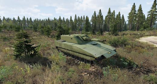 Arma3用スウェーデン軍パックのGrkpbv 120